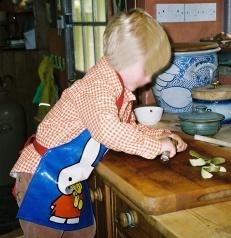 Peeling pears Blog 13